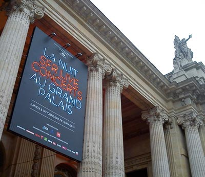 Nuit techno / Grand Palais