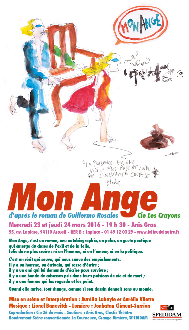 Tract Mon Ange Anis Gras © Les Crayons