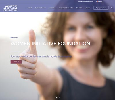 Women Initiative Foundation Site Web